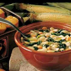 Chicken Lima Bean Soup