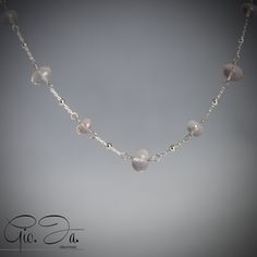Delicate Pink Necklace