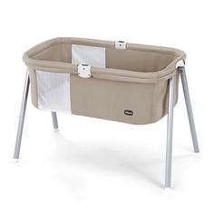 <p>LullaGo is the innovative portable bassinet where the newborn can sleep at any time, whether at home, on holiday, or visiting the grandparents. The Chicco LullaGo can be disassembled and folded in under a minute, and can be conveniently carried in its matching carry bag in order to have it always with you. This sleek bassinet features a streamlined structure, which is light and stable. Soft fabrics and a comfortable mattress create a perfect environment for baby, and the mesh inserts…
