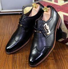 new brogue carve men's oxfords shoes | Furrple