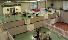 Our daycare areas