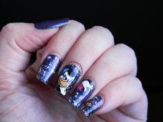 Toxic Vanity: My Favourite Disney classics 25# Patoaventuras/ ABC Nails: B of Bruja Mágica