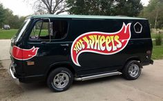 This 1969 GMC Van Isnt A Barn Find But It Gets Props Because The Owner Used To Hand Out Hot Wheels Kids At Local Car Shows