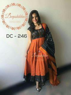 Kalamkari dresses - Call 9059683293 22 May 2016 29 November 2016 Salwar Neck Designs, Churidar Designs, Kurta Neck Design, Kurta Designs Women, Dress Neck Designs, Kalamkari Dresses, Ikkat Dresses, Long Gown Dress, Saree Dress