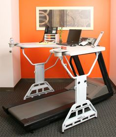 Work AND exercise at the same time with the treadmill desk... http://www.waycoolgadgets.com/treadmill-desk/