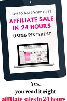 A detailed and easy to follow steps on how you can make an affiliate sales in 24 hours or less. Aside from the sales this course has helped me make my pinning tasks easy and automated. A recommended course if you wanted to make sales blogging or if you are overwhelmed with Pinterest.