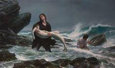 donato giancola's epic mermaids... 3/3