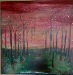 painting woods