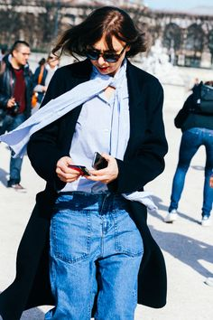 Street looks at Paris Fashion Week Fall/Winter 2015-2016