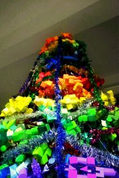 christmas tree (karya anak arsitektur UAJY)
