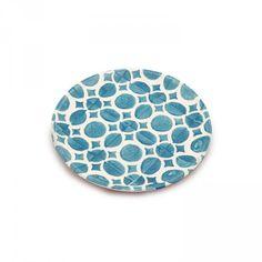 Granada Plate Small 17cm Aqua D1 Front