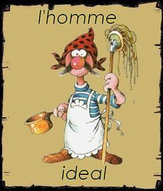 Humour:-) Image Fun, French Quotes, Just Smile, Petunias, Vintage Cards, Funny Cute, Vignettes, Words Quotes, Laughter
