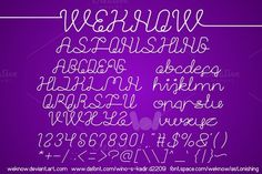 astonishing font by weknow on @creativemarket
