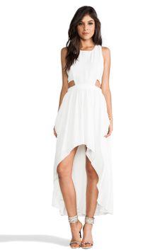 Lovers + Friends Foxy Dress in White