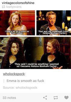 Emma Watson, you win at life.