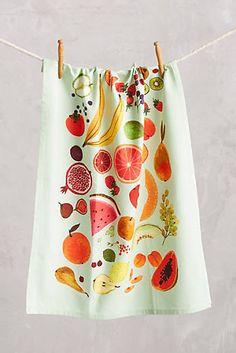 Fruiting Dishtowel