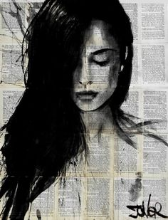 "Saatchi Art Artist Loui Jover; Drawing, ""quest..... SOLD"" #art"