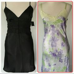 Jones New York Bundle Two-piece Jones New York bundle. One is a black NWT Chemise  from the Jones New York bridal collection. And the other is a Jones New York long gown like new (but not new lovingly use)without tags. Both are in the size of medium. Sorry no trades. Jones New York Other