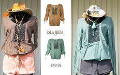 LENTE AANBIEDING!  Tuniek in bruin en groen  49,00 EURO. Op www.stylebird.nl