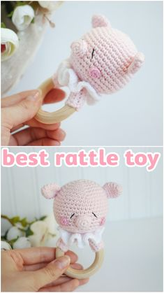 Baptism Gifts For Girls, Baby Girl Gifts, New Baby Gifts, Crochet Toys Patterns, Amigurumi Patterns, Stuffed Toys Patterns, Handmade Baby, Handmade Toys, Etsy Handmade