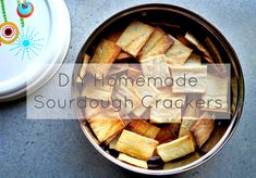 DIY Sourdough Starter + Zero Waste Crackers | Treading My Own Path | Zero Waste + Plastic-Free Living