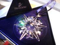 Swarovski Christmas 2002 Ornament NIB (FREE SHIPPING) $120.00