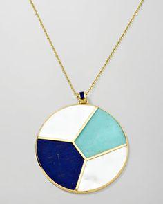 "Ippolita Gold Rock Candy Mosaic Pendant Necklace, 36"" - Bergdorf Goodman"