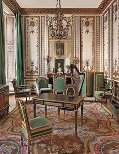 Marie-Antoinette's Cabinet Doré—or Gold Room.