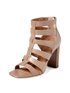 Preston Caged Block Heel Sandal from Summer Trend: Block-Heel Sandals on Gilt