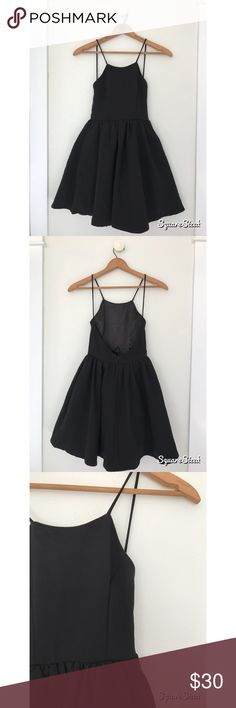 cute black sleek night out dress never worn purchased from lulus color black