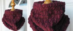 Free cowl scarf pattern