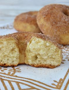 Donut Recipes, Baking Recipes, No Bake Desserts, Dessert Recipes, Pan Dulce, Bread And Pastries, Holiday Cakes, Eat Dessert First, Four