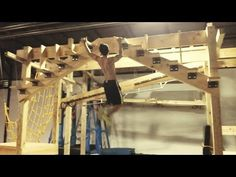 American Ninja Warrior Training Session @ Crossfit Lilburn 678 (June 2014) - YouTube
