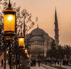 İstanbul akşamları... Sultanahmet