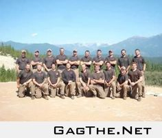 Not the best quality picture, but these young men were the Granite Mountain Hotshots crew from Prescott, AZ. They were the first hot shot crew recognized by the United States government. All 19 of them lost their lives tonight. Please keep them in your th