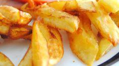 Patatas fritas rápidas microondas