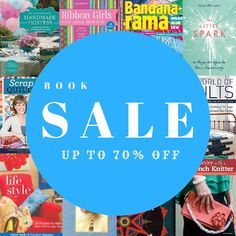 Over 100 books with discounts as high as off? How can you lose? Promotion, Quilting, Weaving, Crafting, Scrapbook, Books, Handmade, Life, Libros