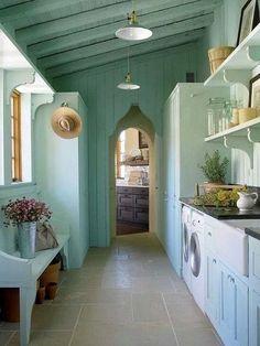 Inspiration for Coastal Living; Let's do laundry