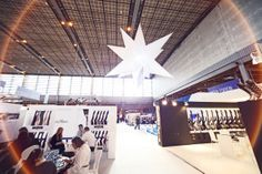 Airstar takes part in special projects. Because the only limit is the sky. 2014 - International Lingerie Exhibition - Paris #airstar #star #lingerie #exhibition #lighting #balloon