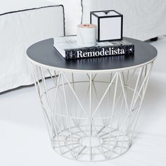 Ferm living wire basket // styled by urban couture