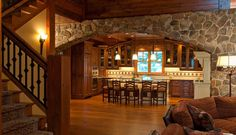 Cozy & Traditional Deephaven | Crystal Cabinets.