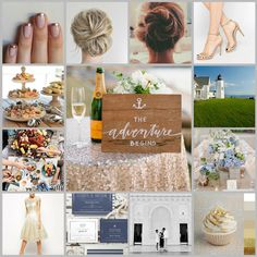 A mood board is a photo collage that depicts how you want your brand to look and feel.