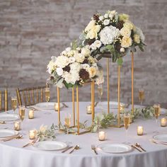 Add a touch of elegance to your wedding decorations and wedding supplies with this Large Gold Geometric Stand! Put a piece of wood on top to make a table with . Elegant Wedding, Rustic Wedding, Dream Wedding, Classic Wedding Decor, Formal Wedding Decor, Neutral Wedding Decor, Traditional Wedding Decor, Wedding Table Ideas Elegant, Whimsical Wedding Decor