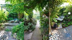 Zo haal je het meeste uit een kleine tuin Urban Garden Design, Backyard Garden Design, Backyard Ideas, Garden Ideas, Garden Makeover, Woodland Garden, Green Garden, Travel Design, Small Gardens