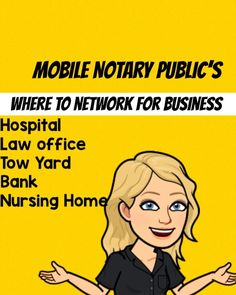 Notary Jobs, Notary Public, Business Planner, Business Cards, Become A Notary, Notary Service, Mobile Notary, Small Business Organization, You Better Work