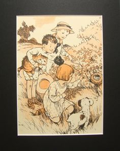 1918 Harold Earnshaw illustration | eBay