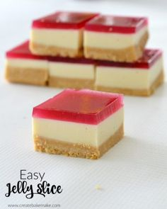 The best jelly slice recipe