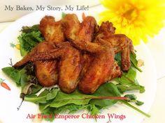 Air Fried Emperor Chicken Wings