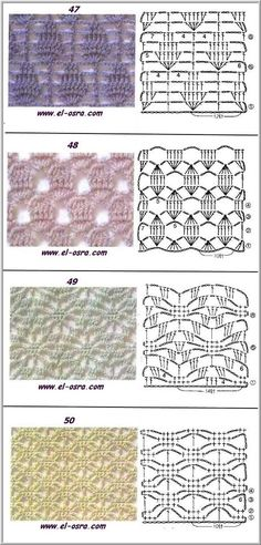 crochet pattern stitch