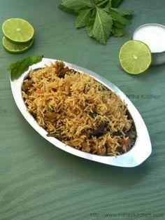 Ambur Hotel Style Chicken Biryani | South Indian Biriyani!!!